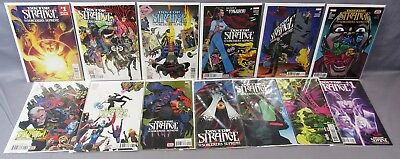 DOCTOR STRANGE AND THE SORCERERS SUPREME #1-12 Annual (Full Run) Marvel 2016 dr.