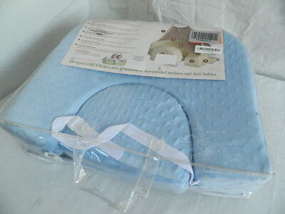 San Diego Baby Sky Blue Deluxe Nursing Privacy Pillow New Gm245