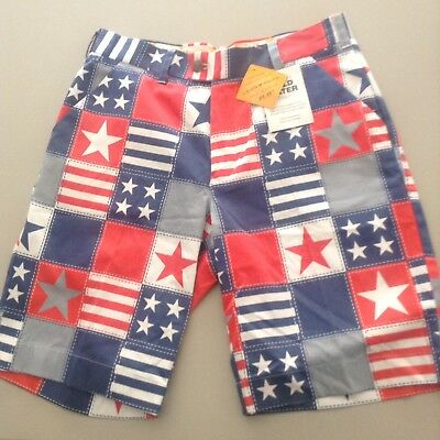 """Men's Loudmouth Golf Shorts- 32"""" NWT"""