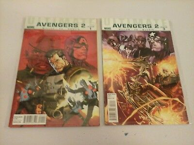 Marvel Comics Ultimate Avengers mini series VOL 1 & 2 complete by Mark Millar