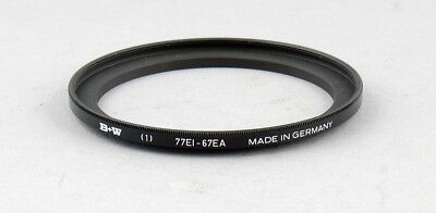B+W Step-Up Ring 67-77mm filter - MINT