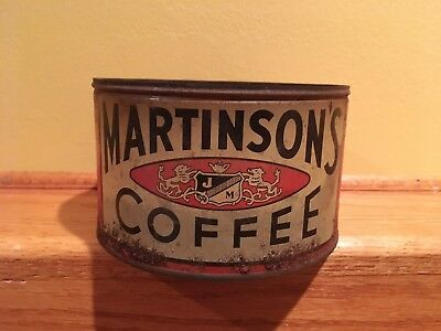 Vintage Martinson's Coffee Can