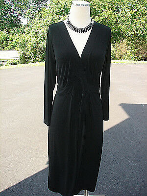 Womens Outfit Lot- 2Pc. Black Maternity Dress XL- NWT Necklace