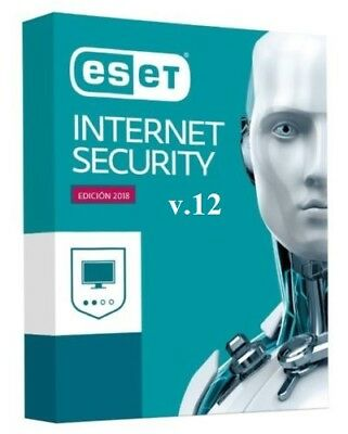 ESET Internet Security Antivirus Global Key till 2021 1 to 5 PC's 1 or 2 years