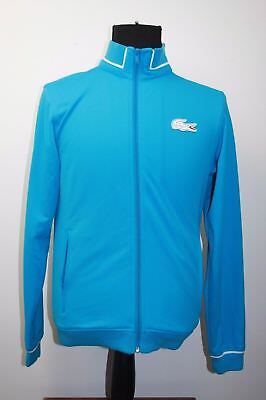 Lacoste Australia Open Sport Mens Blue Zip Jacket Aus Open Size 3 Small