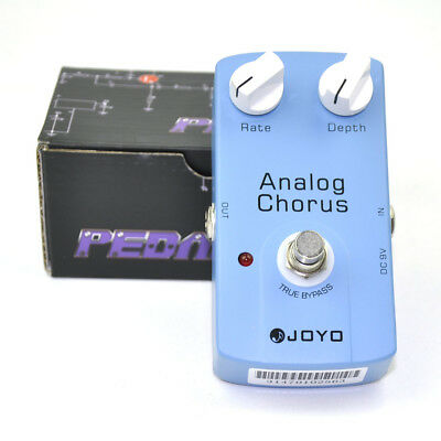 JOYO Analog Chorus Guitar Pedal Effect True Bypass Blue JF37