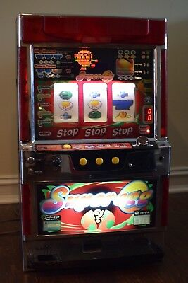 Vintage IGT Type A Coin Operated 7 Casino Slot Machine Works Great