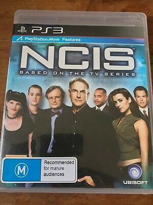 Ncis Video Game Ps3 Sony Playstation 3 Original Pal Complete Vgc