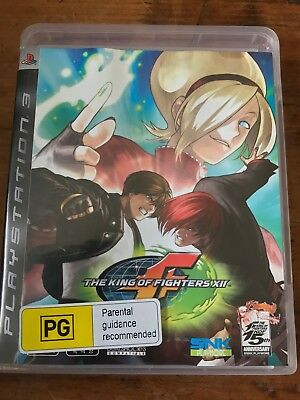 The King Of Fighters Ps3 Sony Playstation 3 Original Pal Vgc