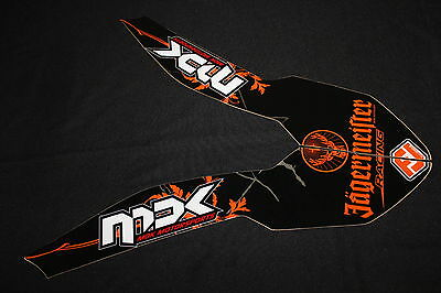 Ktm  2007-2010 Sx Sxf Exc Front Guard Decal Mx Graphics Kit Sticker Kit Stickers