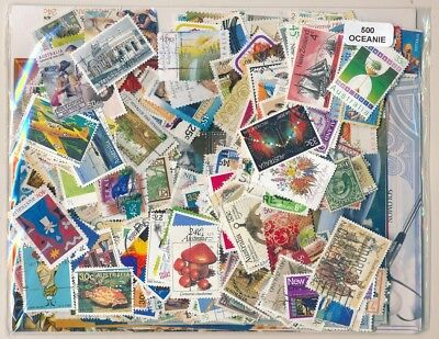 Oceania Package 500 stamps different