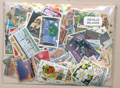New Zealand Package 500 stamps different