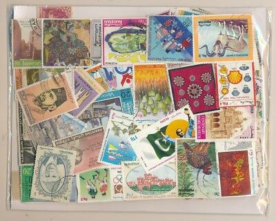 Pakistan Package 500 stamps different