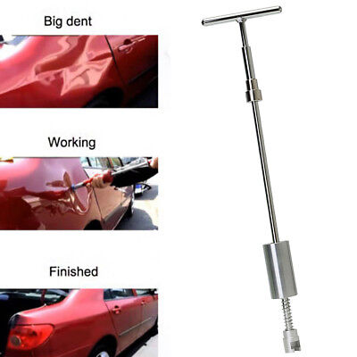 PDR Tool T Bar Slide Hammer Glue Tabs Puller Car Body Dent DIY Removal No Paint