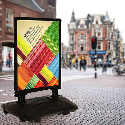 A1 Waterbase Pavement Poster Stand Sign A-Board Holder Snap Frame Shop Display
