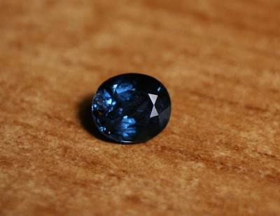 1.16ct Ceylon Blue Spinel - Natural Untreated Rare Precision Cut Gem