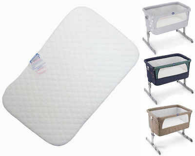 Crib Mattress for Chicco NEXT2ME beside next to me by Foam-Bedding