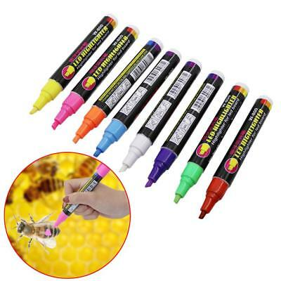 Queen Bee Marking Pen Tool Marker Color Beekeeping Bees Marks Pen Tools 8 Colors