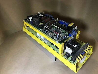 Fanuc Servo Amplifier A06B-6058-H011 / Top Board