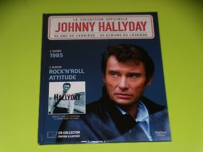 Johnny Hallyday - La Collection Officielle - Rock'n'roll Attitude - 1985