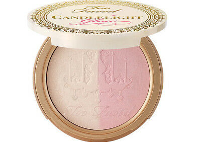 Too Faced Candlelight Glow Highlighting Powder Duo Unboxed