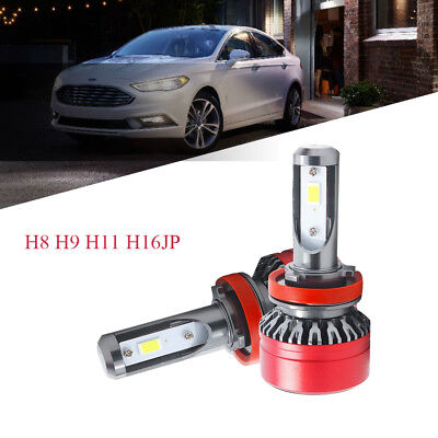 Car H8 H9 H11 LED Headlight Bulb 6000K 6000LM 60W White Conversion Lamp