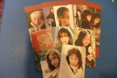 EXID Official 5th Anniversary Bookmarks and Photocards (plus free official gift)