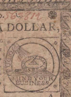 CC-21 *** PCGS VF25 *** $1/2 February 17, 1776 Continental Fractional Currency