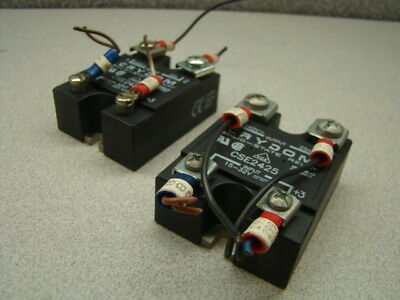 Crydom CSE2425 Solid State Relay, 15-32V, Panel Mount, QTY of 2