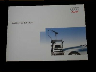 AUDI SERVICE BOOK BRAND NEW FOR ALL MODELS PETROL & DIESEL tdi tfsi a5 a6 a7 a8