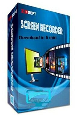 Screen Recorder ZD Soft Activation Key Delivery Download in 5 min