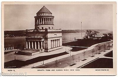 AK Post Card US USA Grant`s Tomb and Hudson River New York ungelaufen 1921
