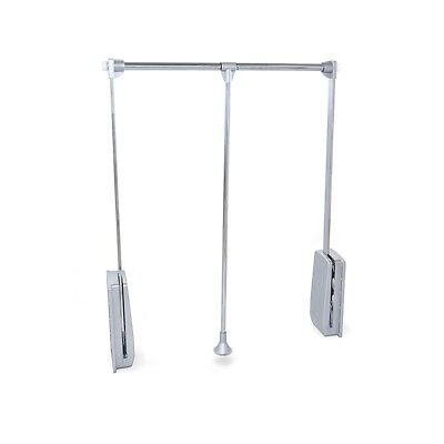 Colgador abatible para armario Hang Emuca anchura regulable 830-1150mm cromado