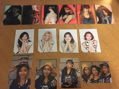 Twice - PAGE TWO (Photocards + Lenticulars)