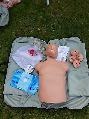 Simulaids CPR training manakin first aid brad doll