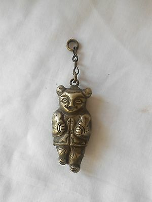 """Vintage """"Chinese Silver/Miao Silver"""" Little Girl Necklace Pendant"""
