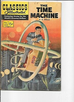 Classics Illustrated  #133  hrn 158  The Time Machine