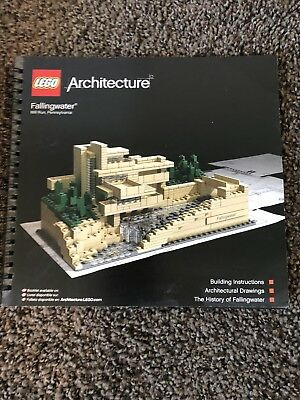 Lego Architecture Fallingwater 21005 Complete Set Used 11450