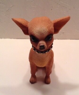 Realistic Bobblehead Chihuahua Resin Figure