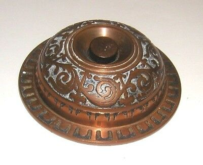 Early 20th Century Bronze Electric Doorbell