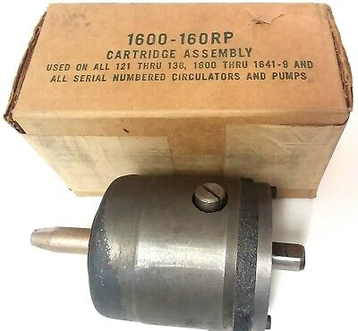 """Taco 1600-160RP Bearing Cartridge Assembly 2-1/2"""" 3"""" & 1600 Series Pumps NOS"""
