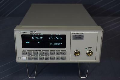 Keysight (Agilent) 8156A /100 Optical Attenuator Mainframe