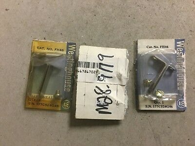 Westinghouse FH46 Overload Heater Element-Lot Of 3 New