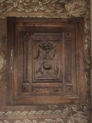 Fruit wood carving doors French 1890