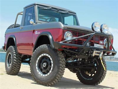 Bronco Restomod 1967 Ford Bronco Restomod 387 Miles Since Build Loaded with AC and AUTO
