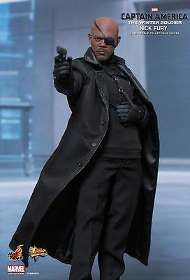 CAPTAIN AMERICA 2 - Nick Fury 1/6th Scale Action Figure MMS315 (Hot Toys) #NEW