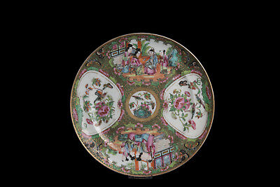 China 19. Jh. Teller - A Chinese Canton Export Porcelain Plate - Cinese Chinois