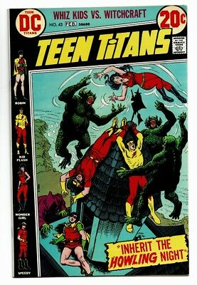 Teen Titans Lot of 2 # 43 VF/NM, 44 NM, Firestorm lot of 2 NM-, VF+ OW-WHT