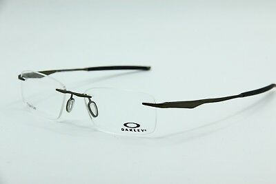 f3718cfc32 New Oakley Ox5118-0153 Satin Pewter Wingfold Evr Eyeglasses Authentic Rx  53-18