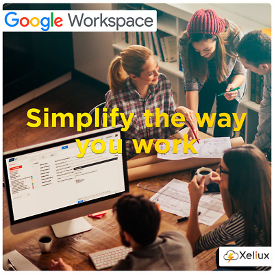 G Suite : 5 user accounts (30GB Each) + Domain Name: 1 .COM + Control Panel